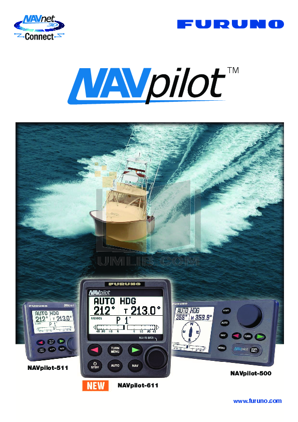 pdf for Furuno GPS GP-7000F manual