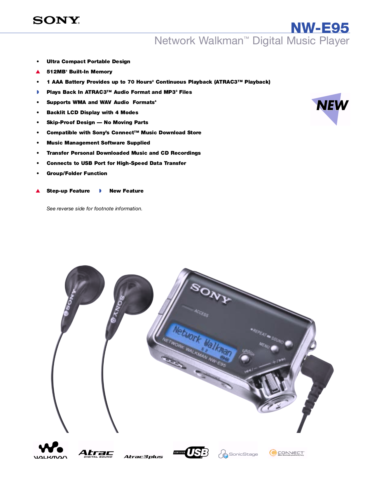 sony mp3 player downloads