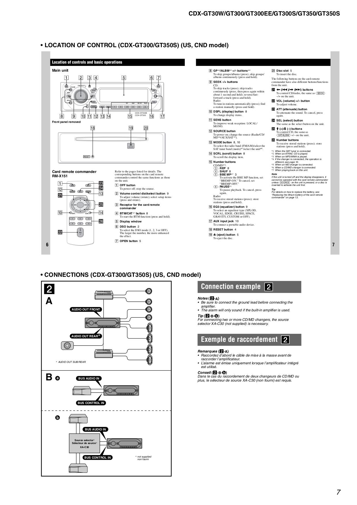 pdf manual for sony car receiver xplod cdx gt30w rh umlib com