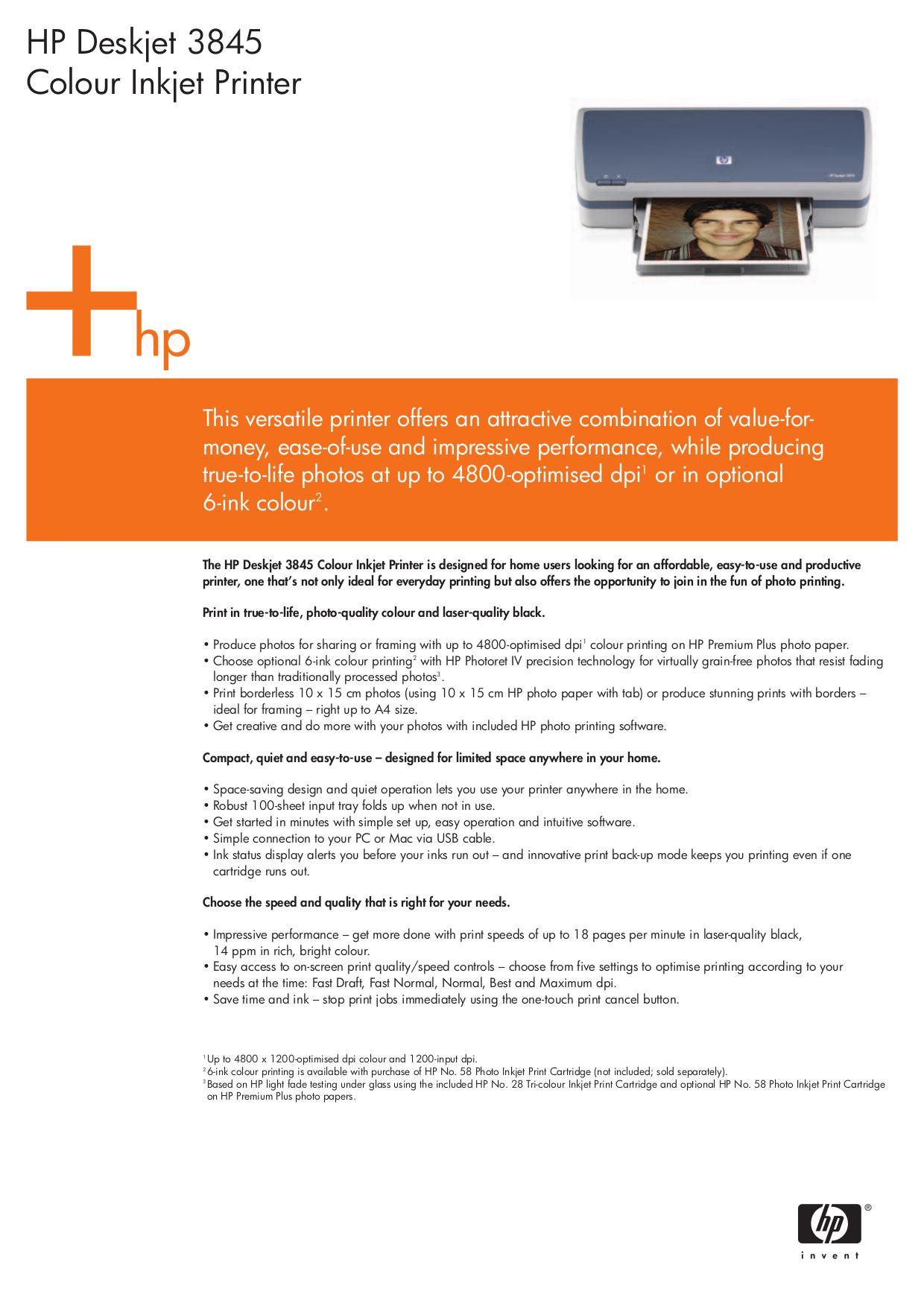 download free pdf for hp deskjet 3845 printer manual rh umlib com hp deskjet 3845 user manual HP Deskjet 6940