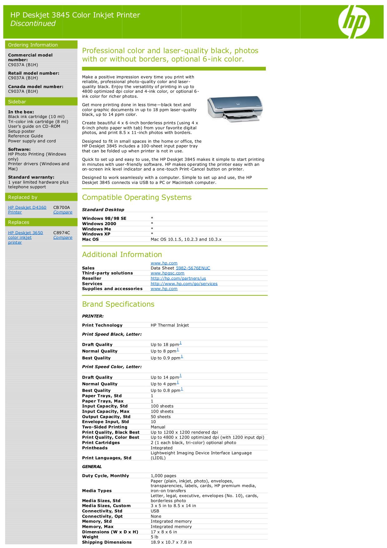 download free pdf for hp deskjet 3845 printer manual rh umlib com hp deskjet 3845 manual pdf hp deskjet 3845 service manual