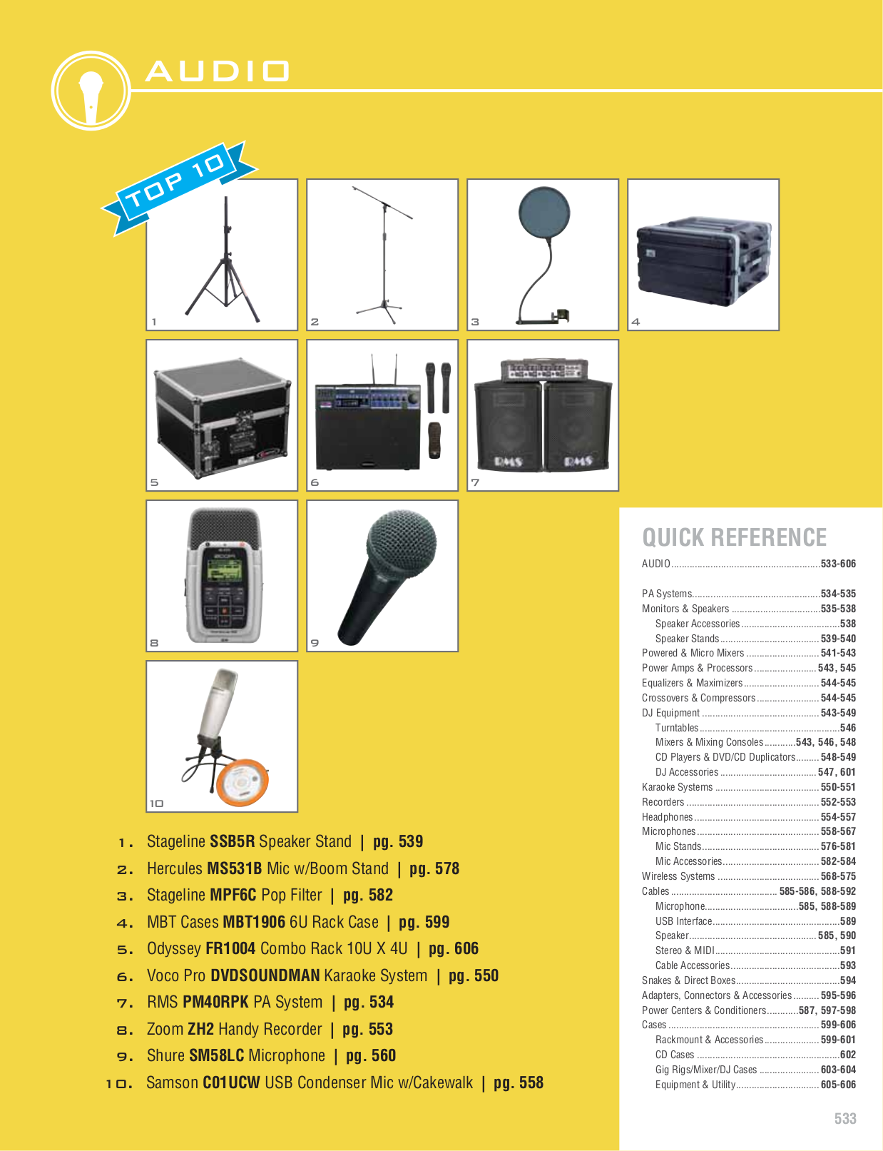 pdf for VocoPro Other UHF-5800 Wireless Microphone manual