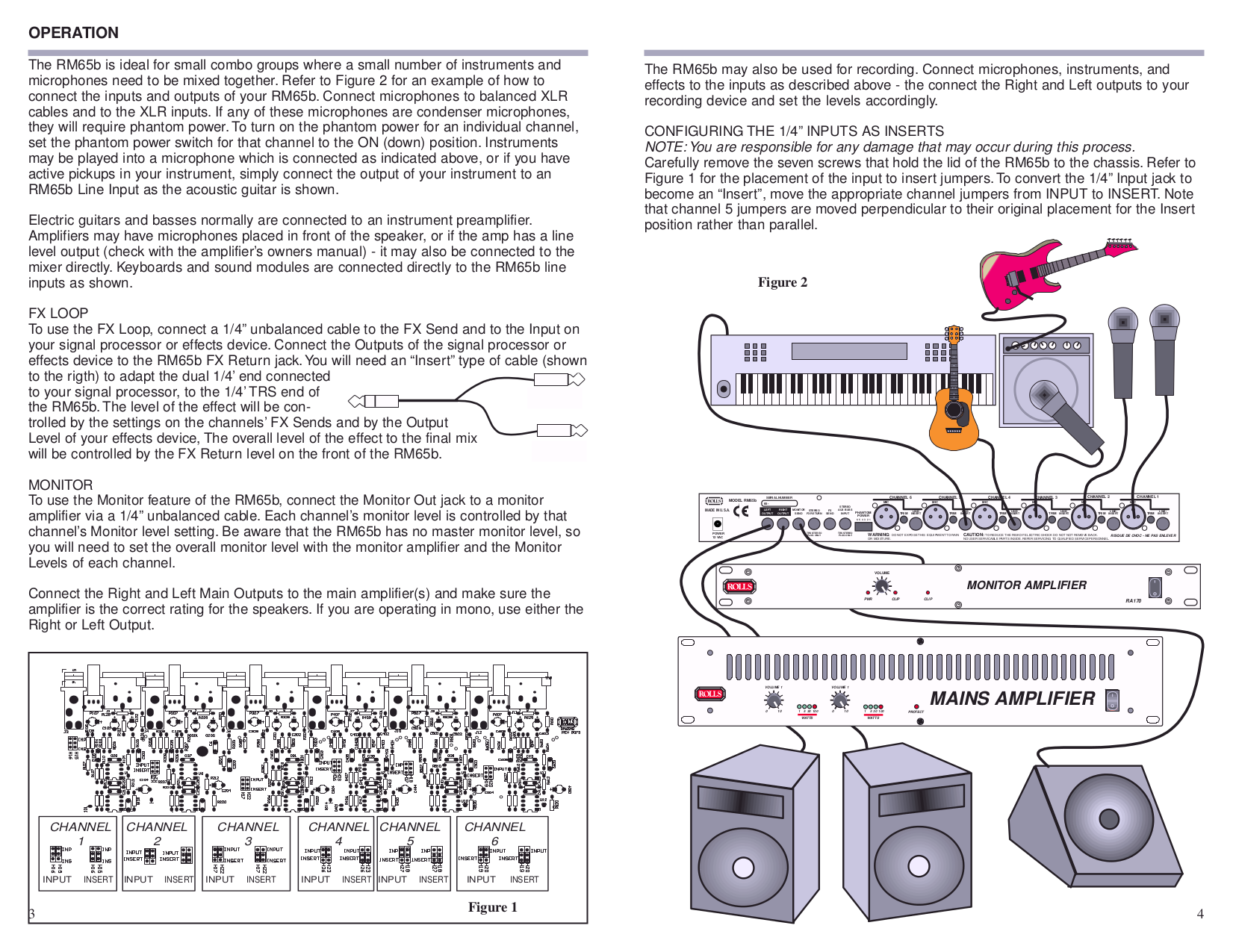 Pdf Manual For Rolls Other Rm65b Audio Mixer