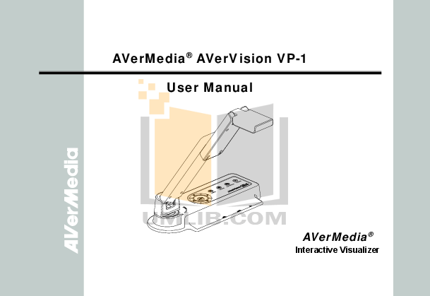 pdf for Avermedia Other AverVision 150 Projector-Accessory manual