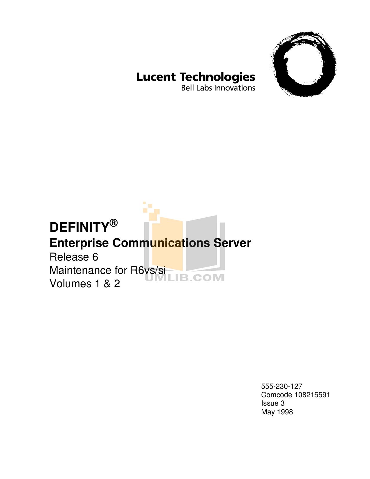 pdf for Avaya Telephone Definity Callmaster IV manual