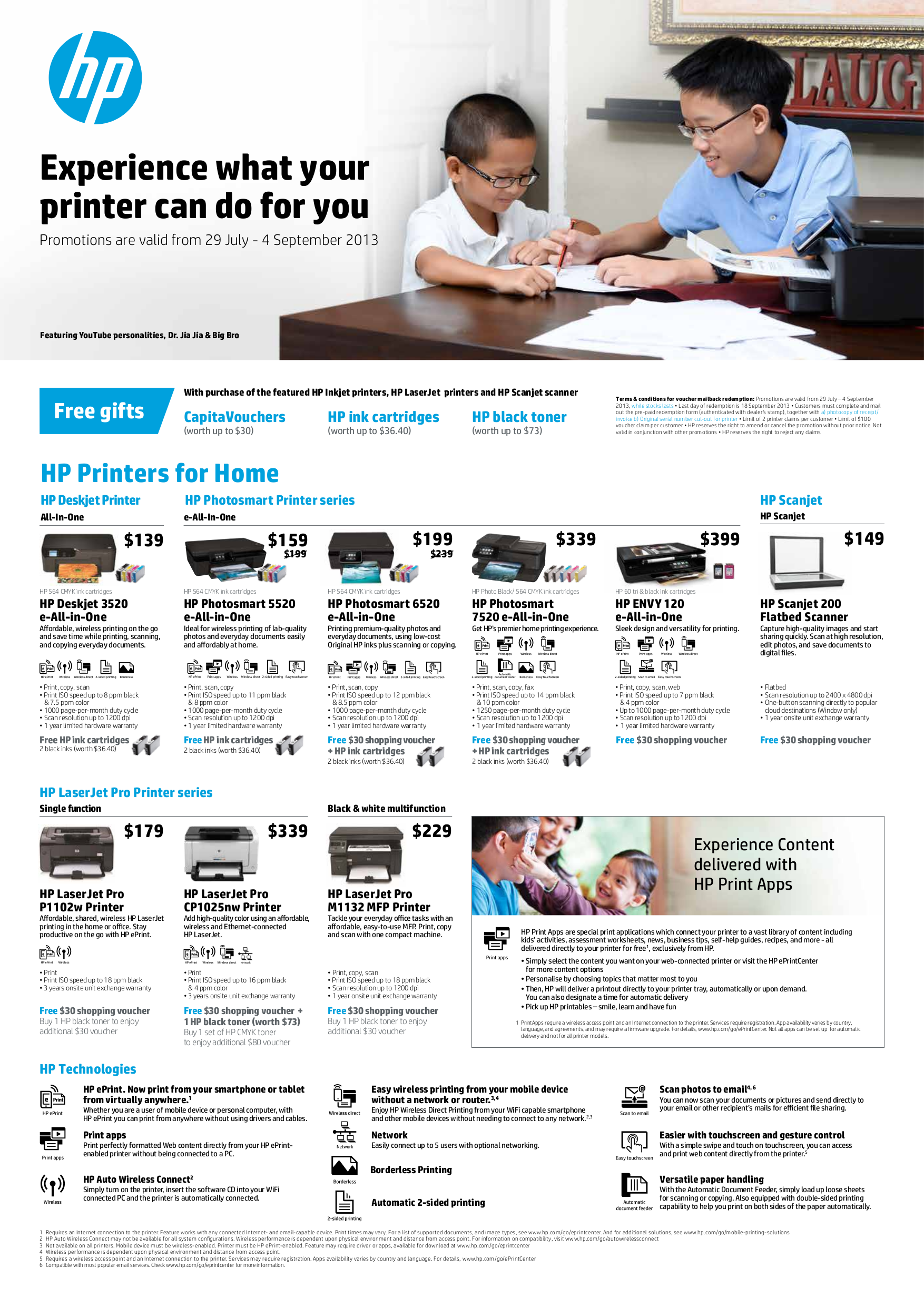 pdf for HP Multifunction Printer Officejet 5510 manual