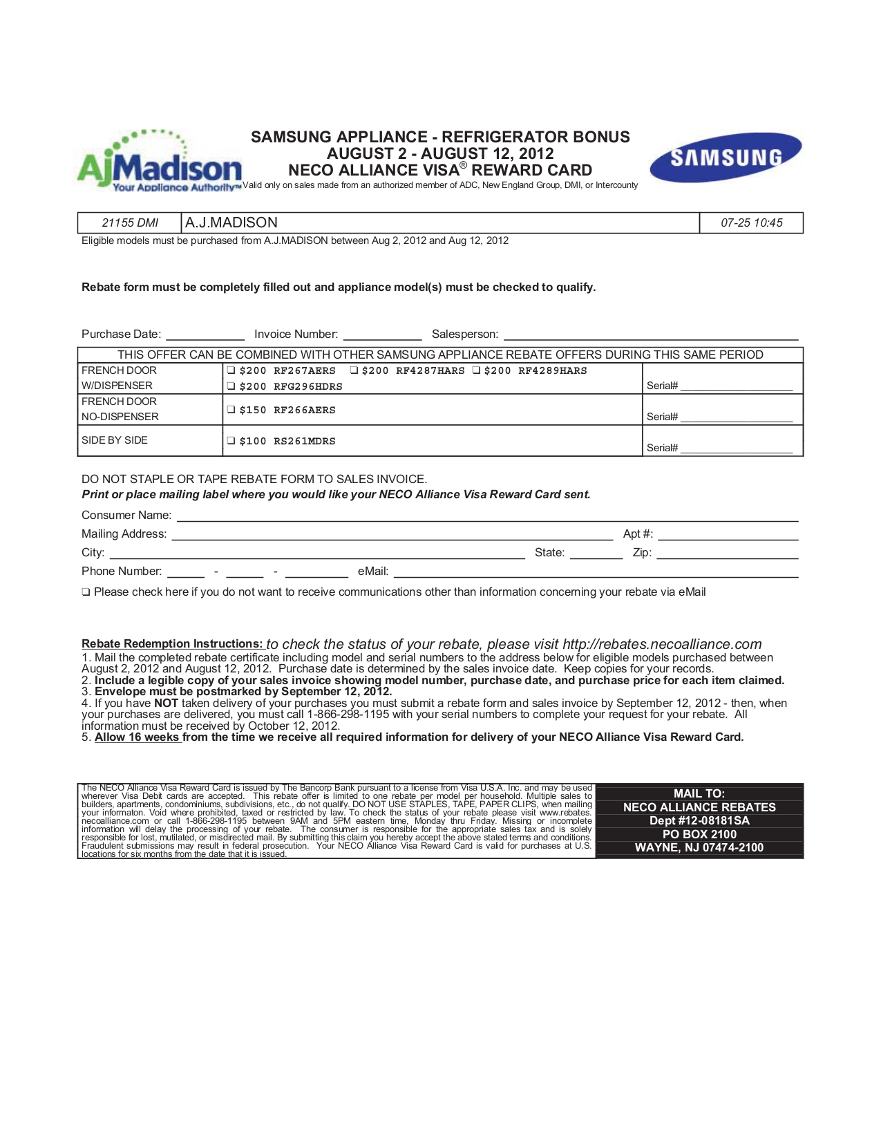 samsung rf267aers service manual pdf