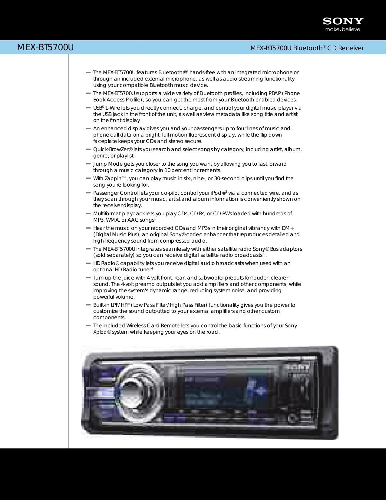 Sony Mex Bt2700 Wiring Diagram Diagrams Cdx Fw700 Wire Center U2022 Pw Bt 31 Download Free