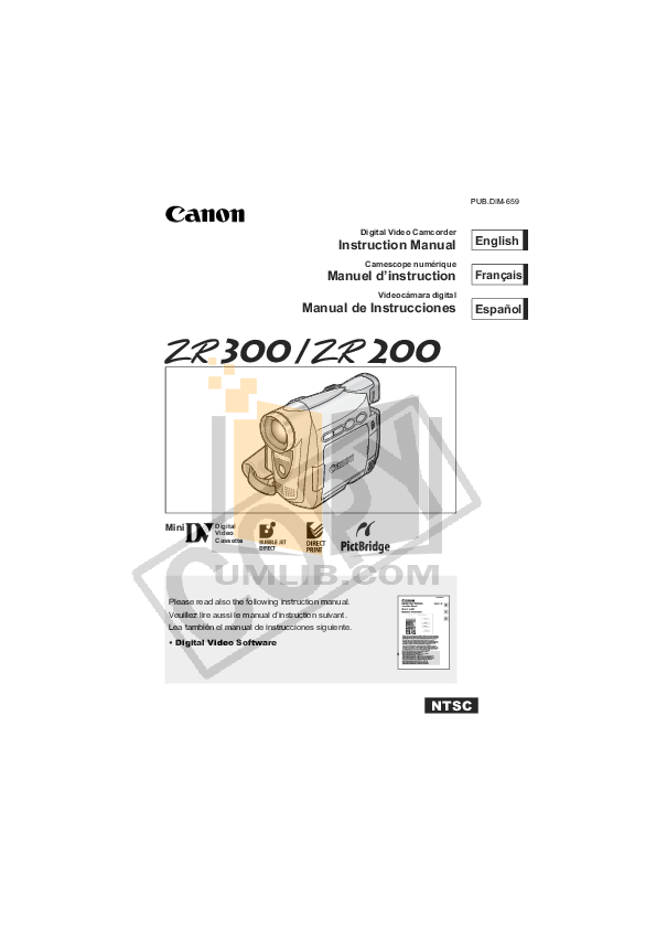 pdf for Epic Camcorders Wide manual