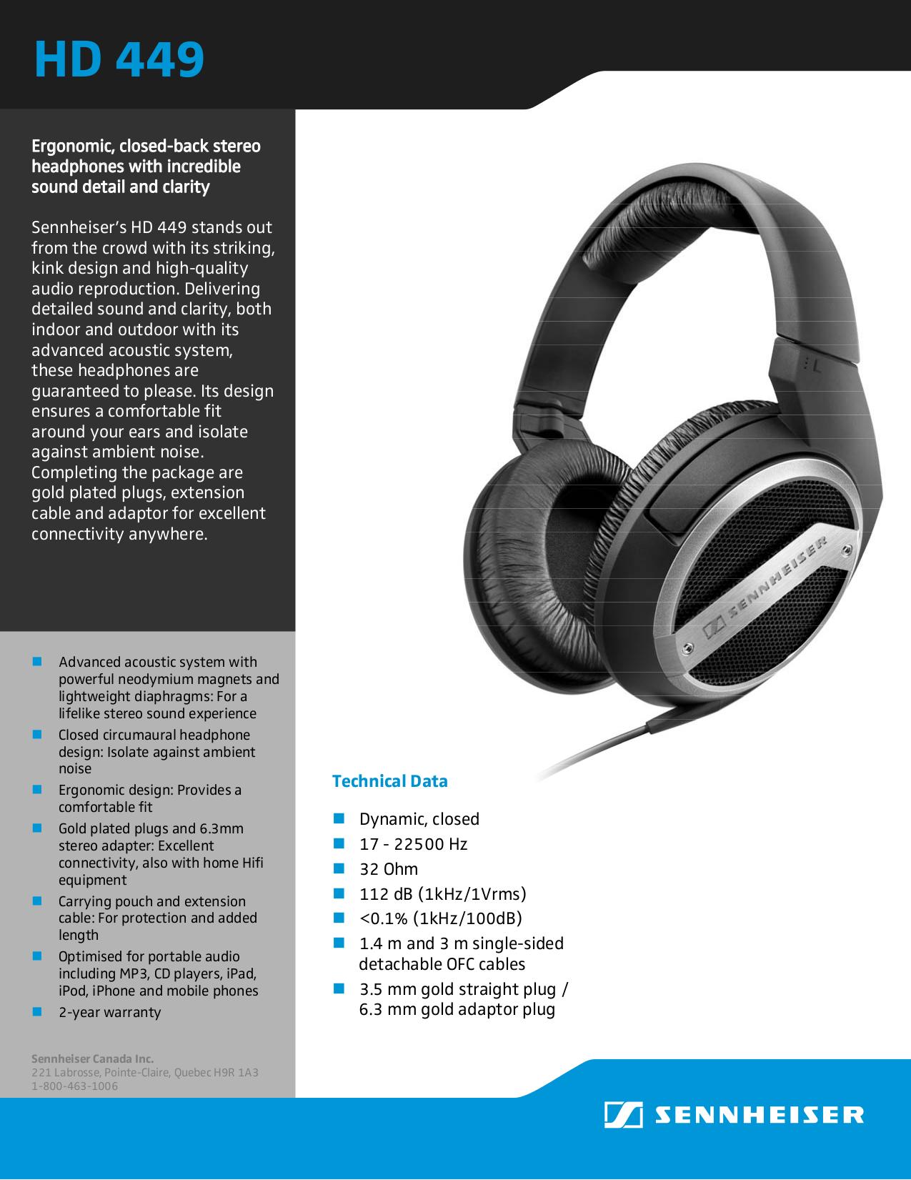 download free pdf for sennheiser hd 449 headphone manual rh umlib com sennheiser headphones manual wireless sennheiser headphones manual wireless