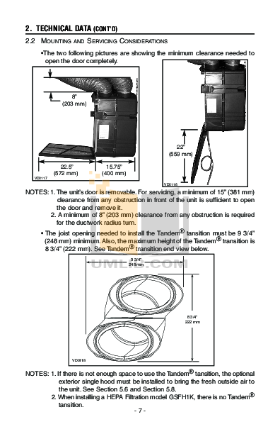 Broan-NuTone Other GSHH3K Air Purifiers pdf page preview