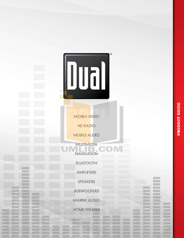 pdf for Dual Speaker DC265W manual