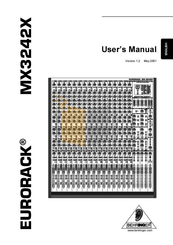 download free pdf for behringer eurodesk mx9000 mixers other manual rh umlib com behringer mx9000 service manual behringer mx9000 service manual
