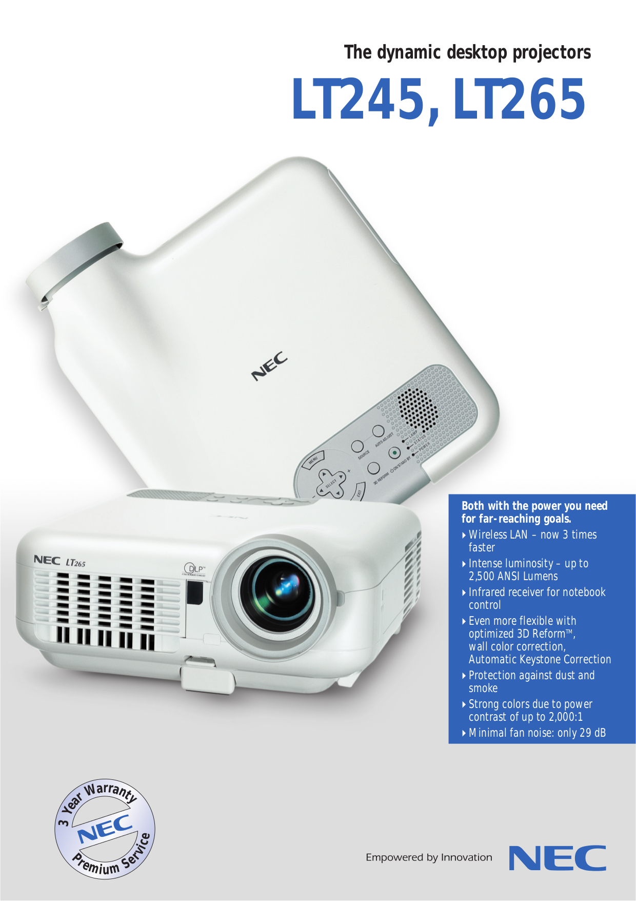 download free pdf for nec lt265 projector manual rh umlib com Old NEC Projectors NEC VT 47 Projector Manual