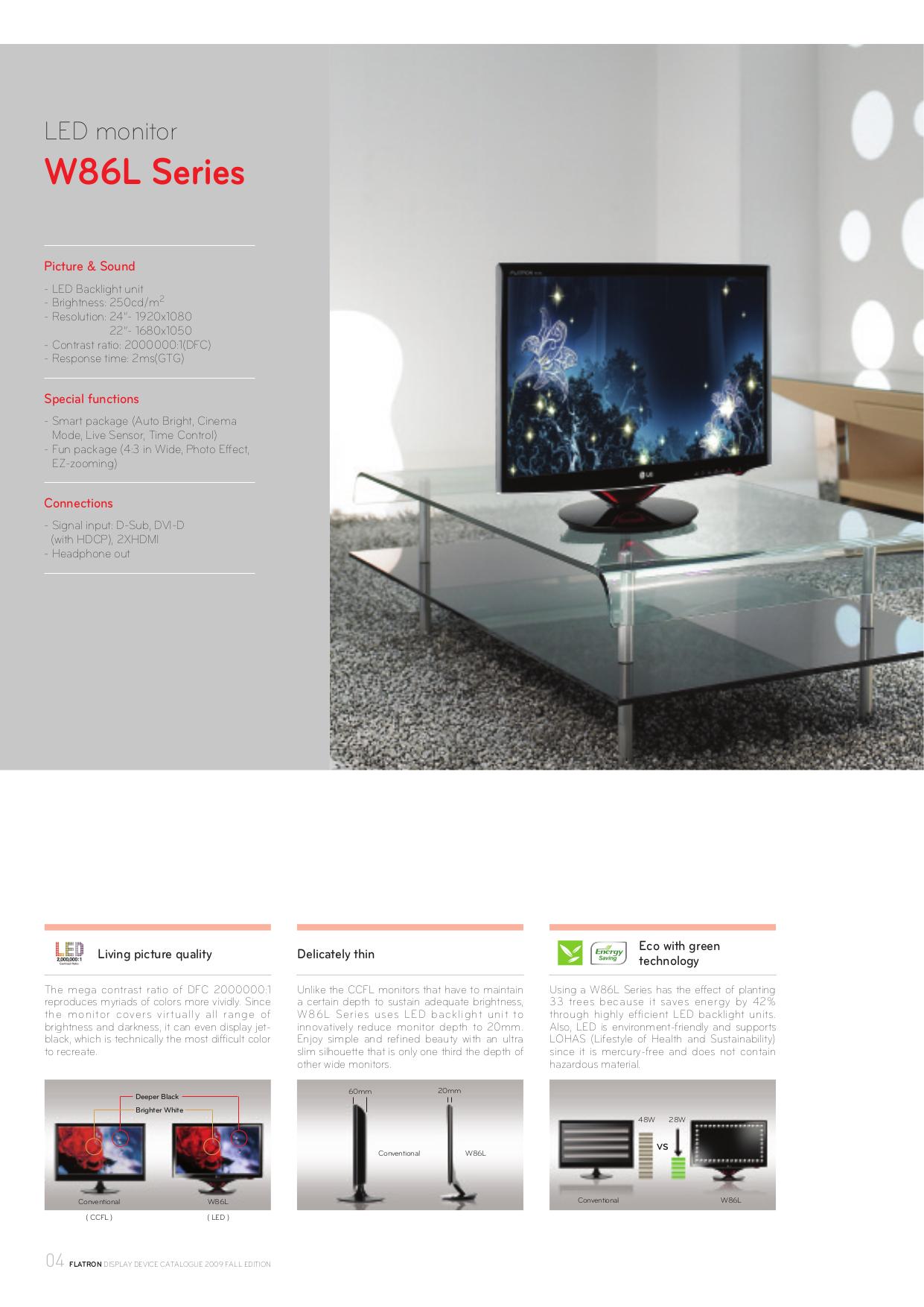 LG Monitor W2243T pdf page preview