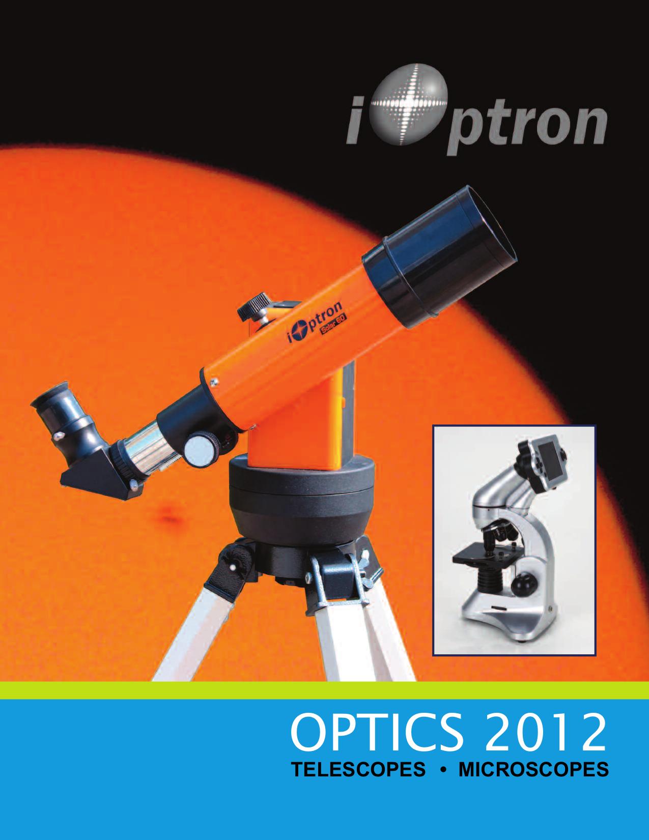 pdf for Ioptron Telescope SmartStar G-R80 manual