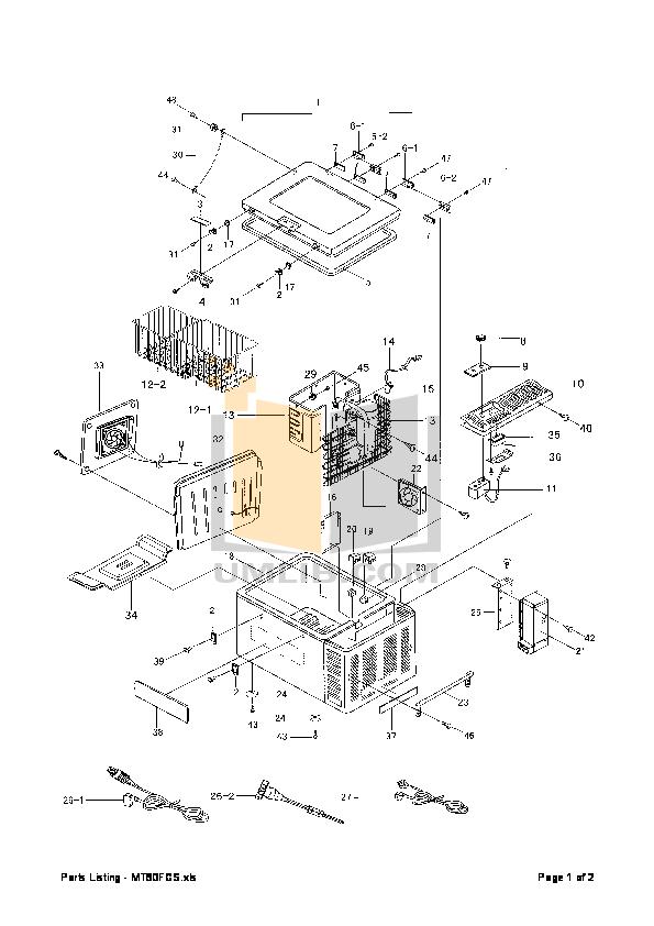 Download Free Pdf For Engel Mt60f Refrigerator Manual