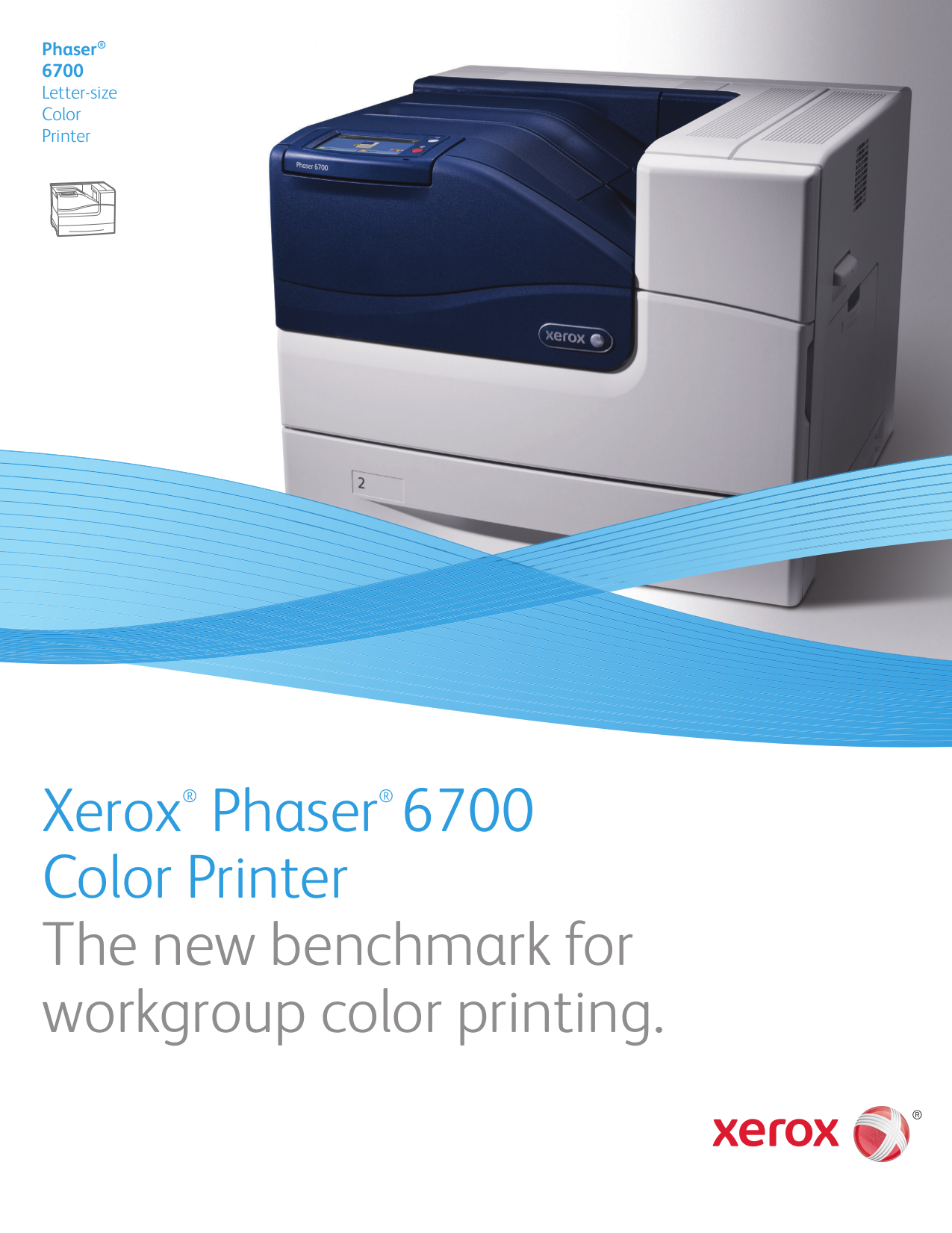 pdf for Xerox Printer Phaser 6700DN manual