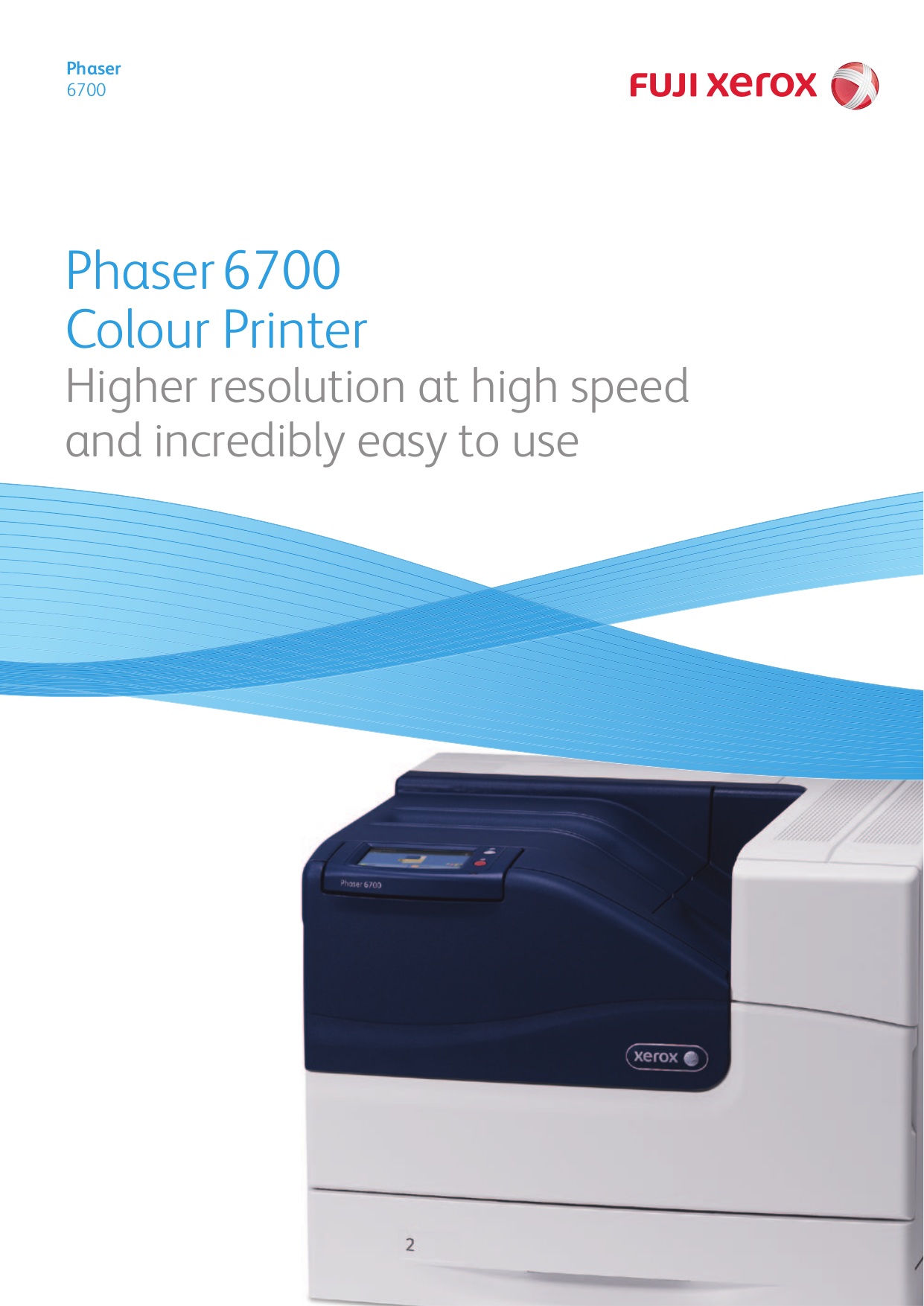 pdf for Xerox Printer Phaser 6700DN manual