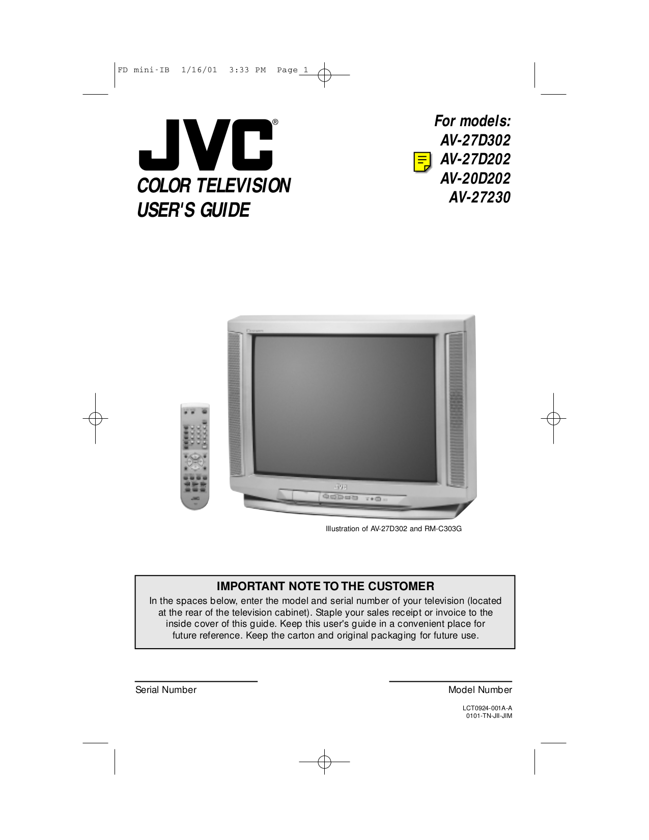 Download Free Pdf For Jvc Av