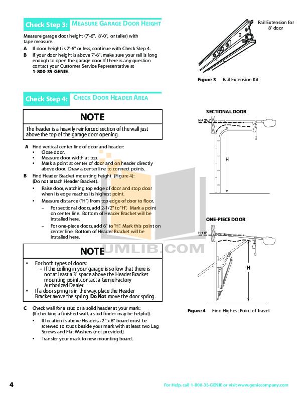 PDF manual for Genie Other GPS-IC Garage Door Opener