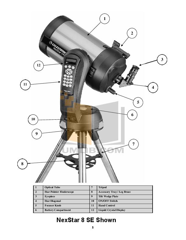 pdf manual for celestron telescope nexstar 8se rh umlib com celestron 8se instructions celestron 8se manual 2000 mm-f/10