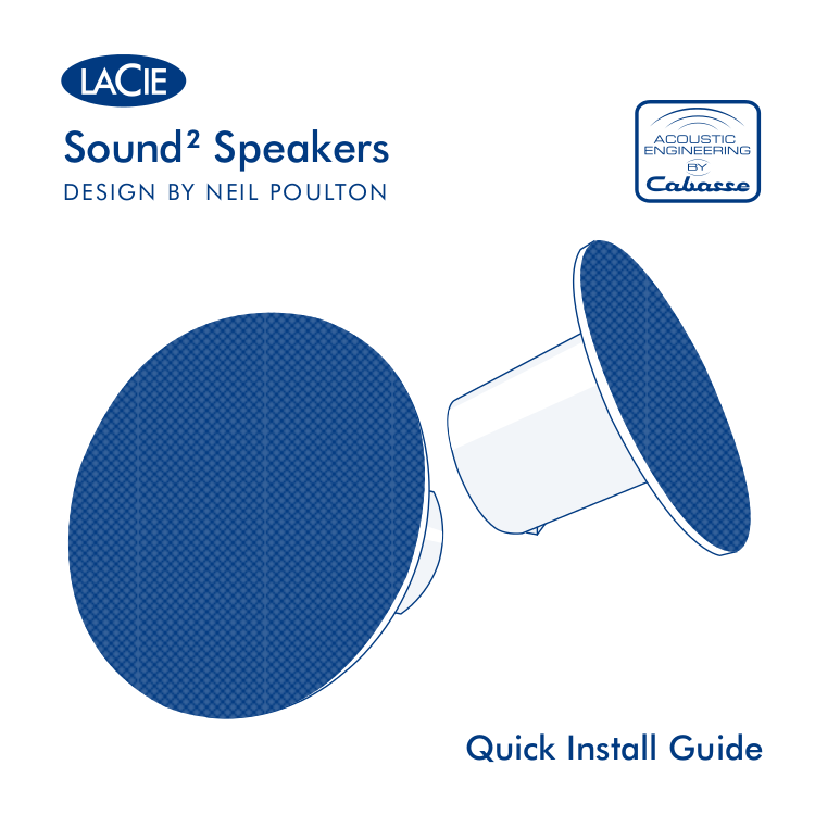 LaCie Speaker Sound2 pdf page preview