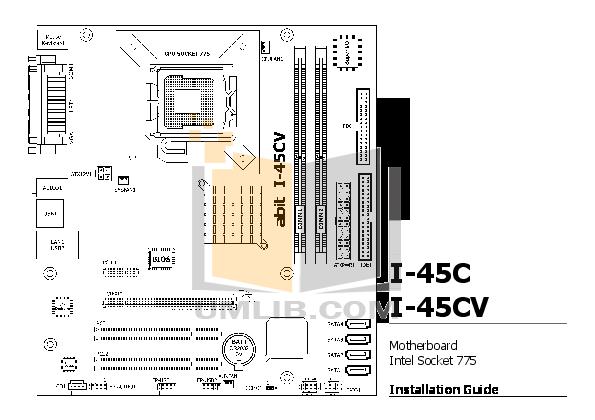 download free pdf for abit i 45cv motherboard other manual rh umlib com abit kd7 motherboard manual abit kd7a motherboard manual