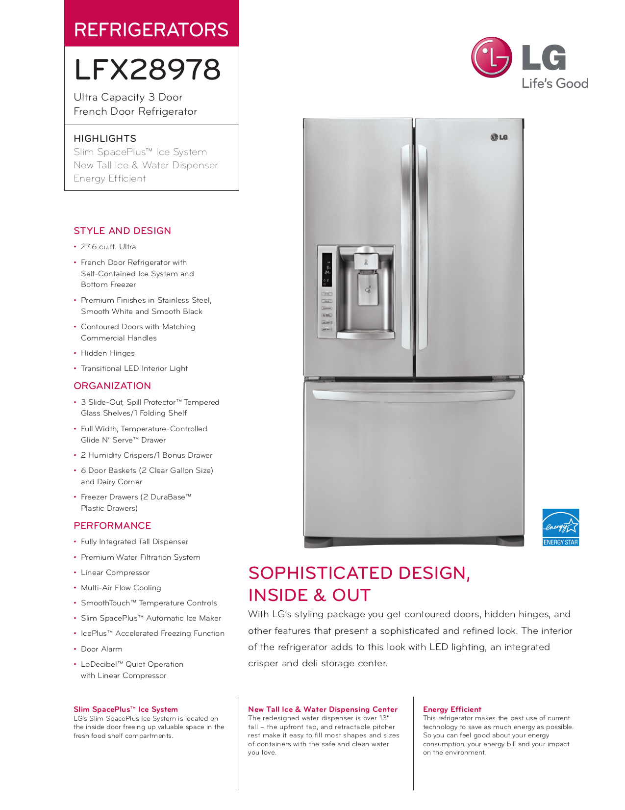download free pdf for lg lfx28978st refrigerator manual rh umlib com Refrigerator LG LFX29927ST Refrigerator LG LFX29927ST