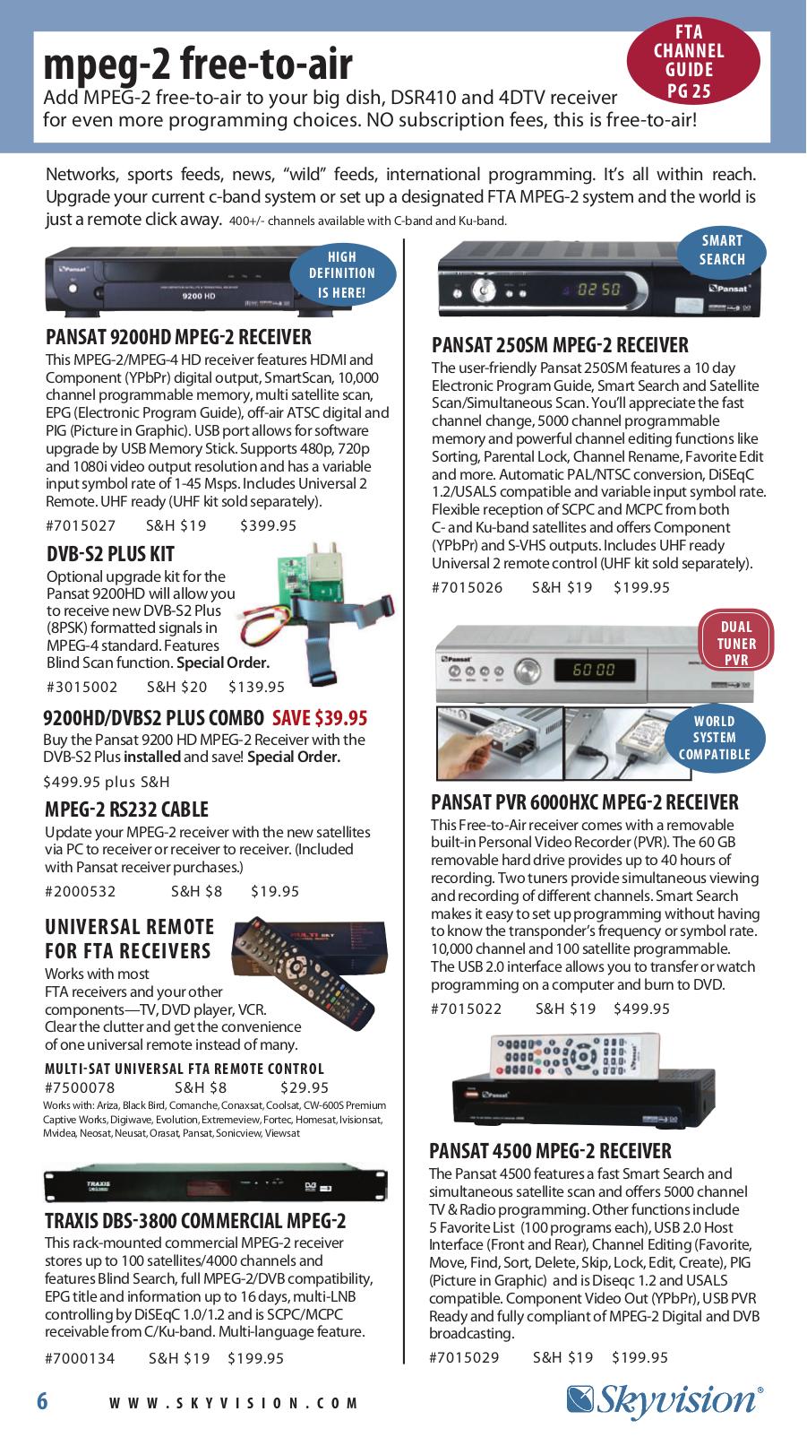 PDF manual for Samsung Satellite Receiver DSR 3800