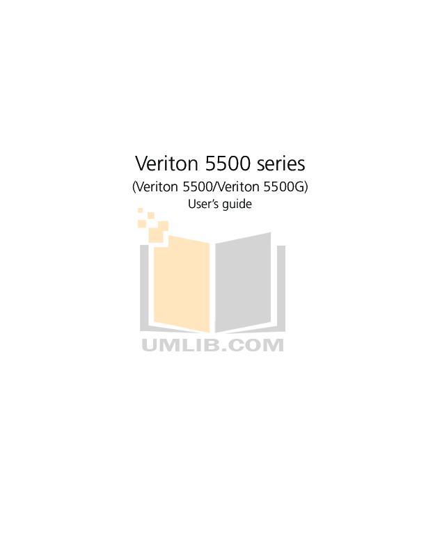 pdf for Acer Desktop Veriton 5500G manual