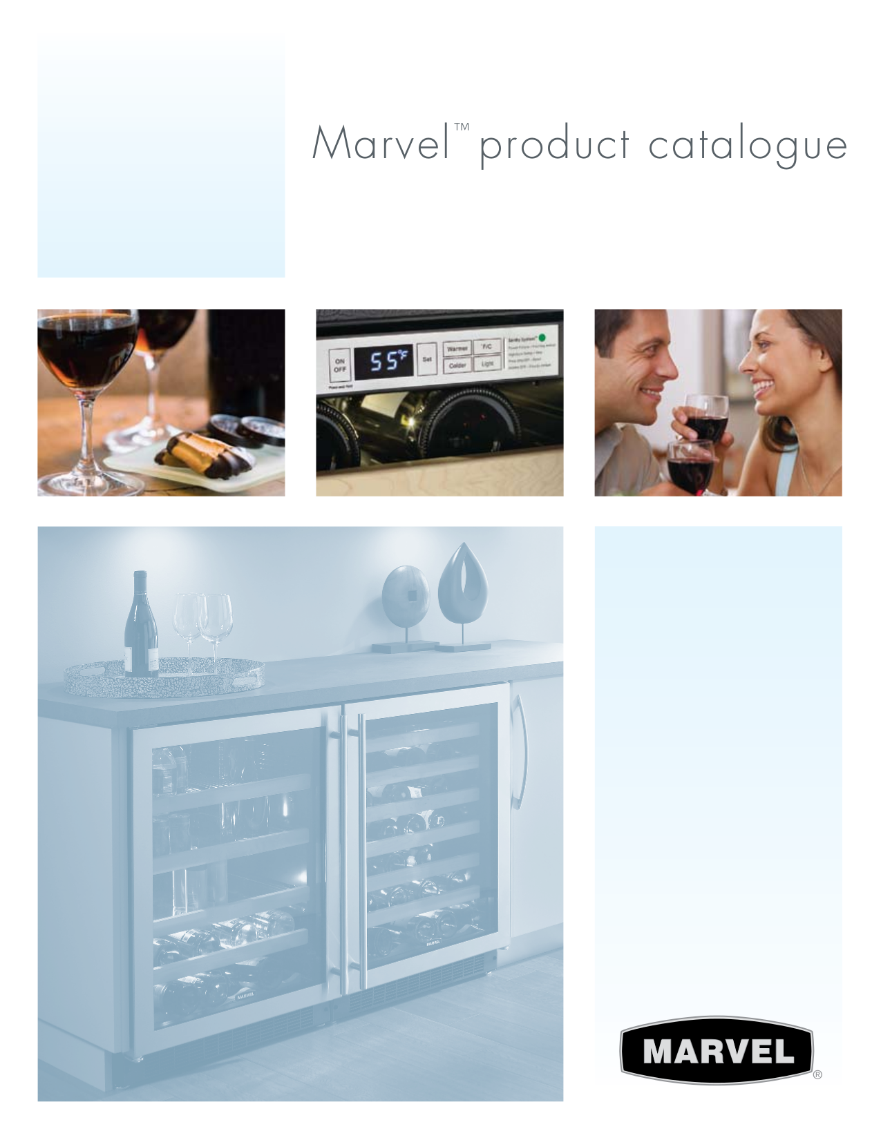 pdf for Marvel Refrigerator 3BARM-WW-G manual