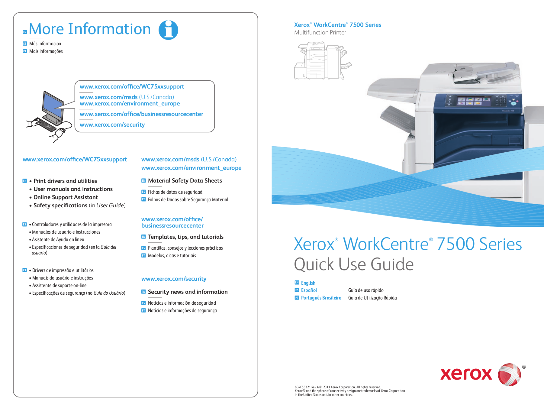 Pdf for xerox multifunction printer workcentre m128 manual