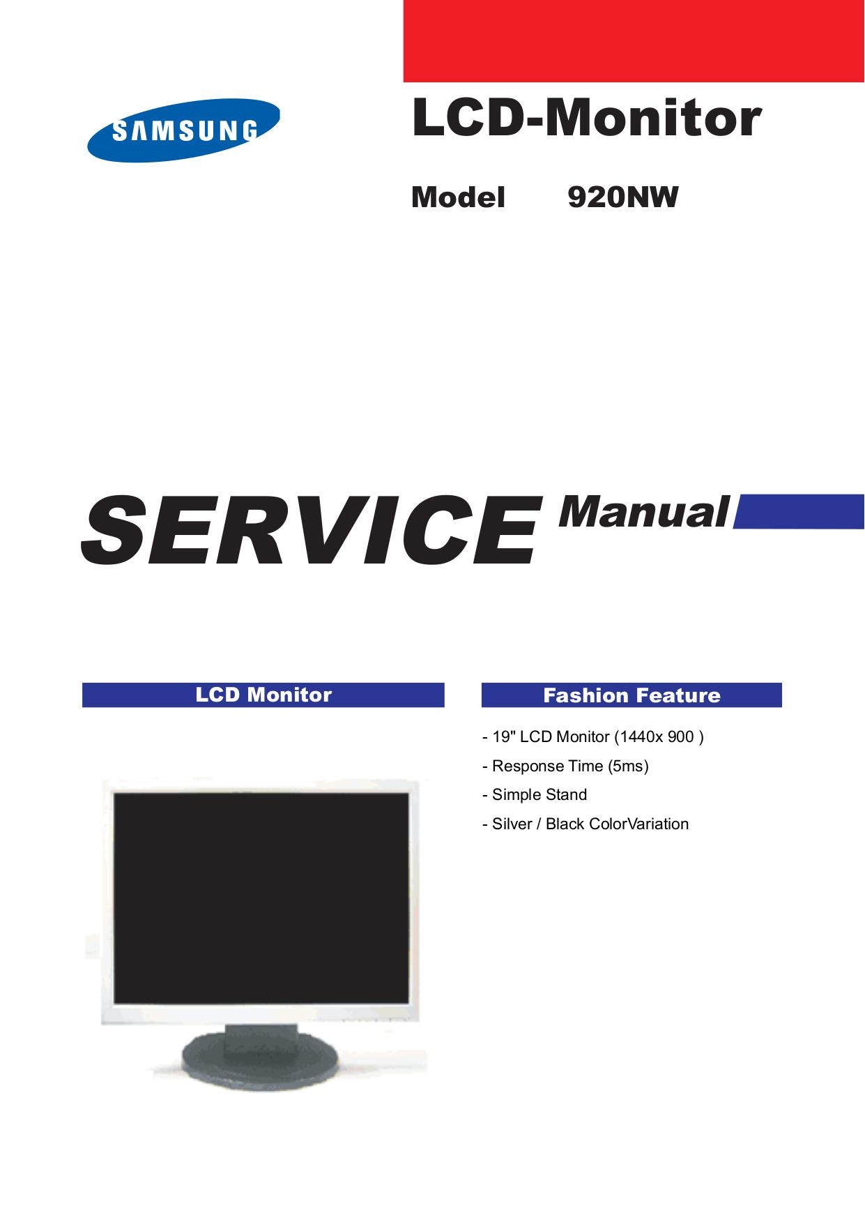 Инструкция Монитора Samsung