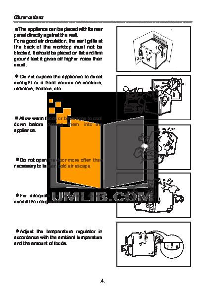 Haier Refrigerator HR-62 pdf page preview