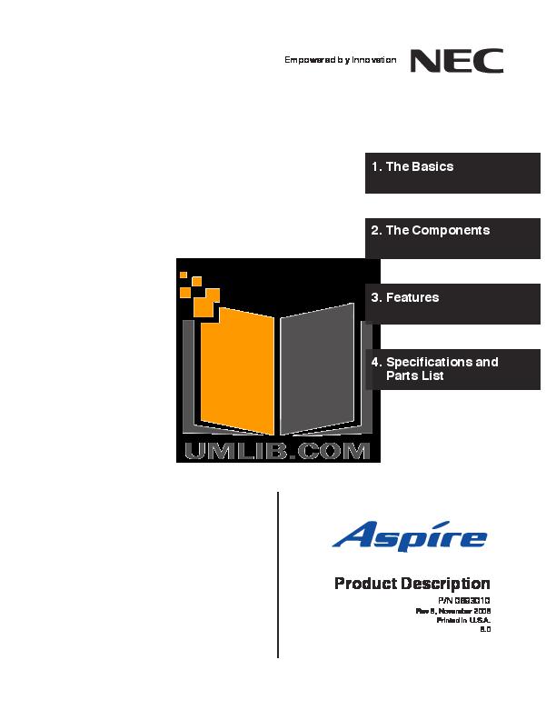 pdf for Acer Desktop Aspire T100 manual