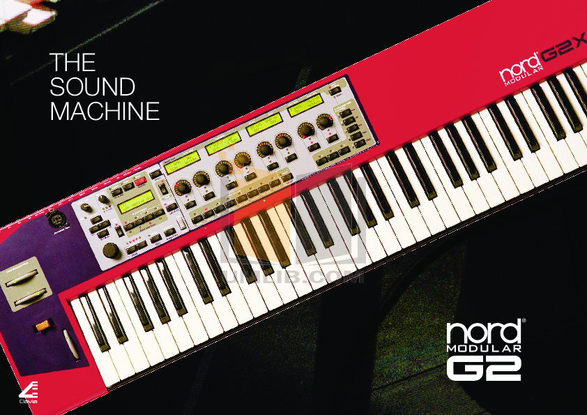 pdf for Clavia Music Keyboard Nord Modular G2 manual