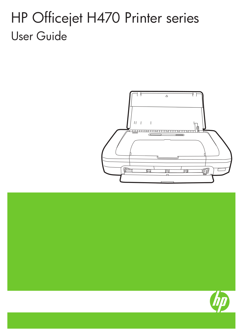 pdf for HP Printer Officejet H470 manual