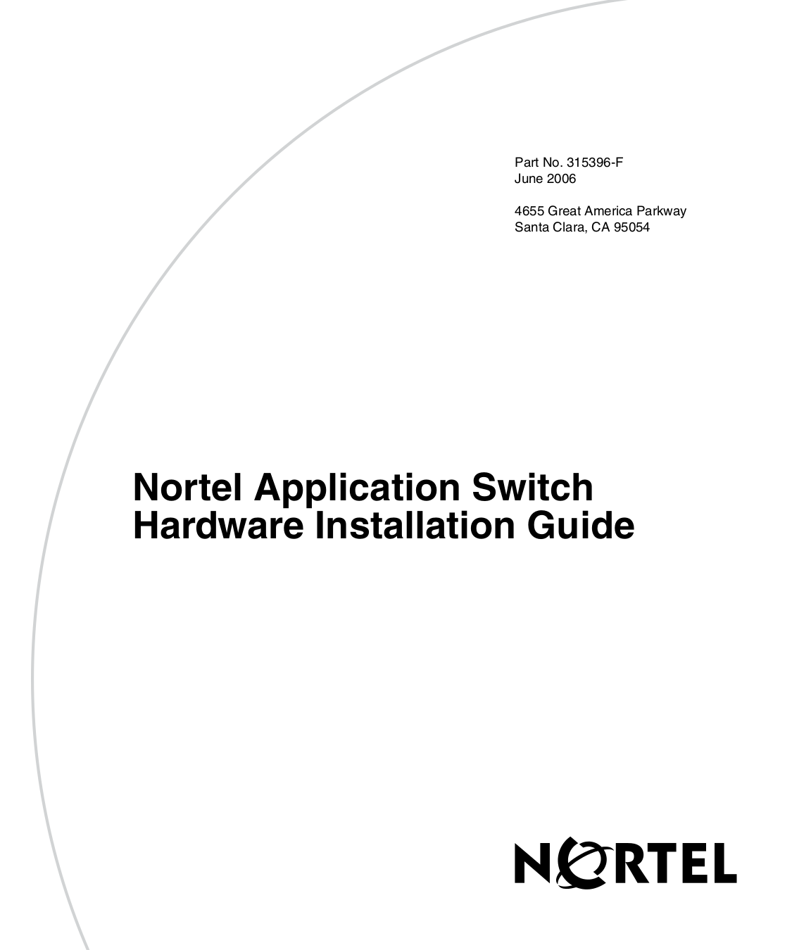 pdf for Nortel Switch Application Switch 2424-SSL manual