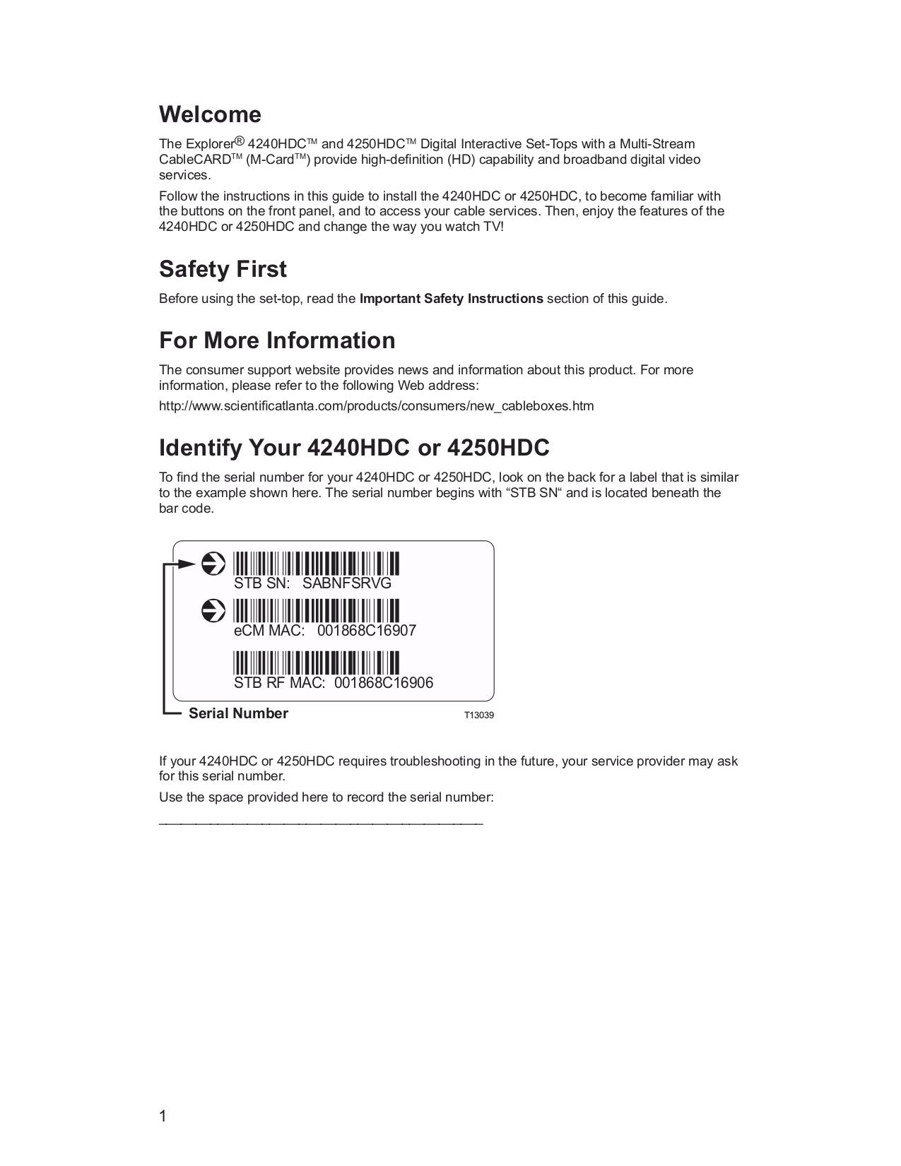 4250HDC MANUAL PDF