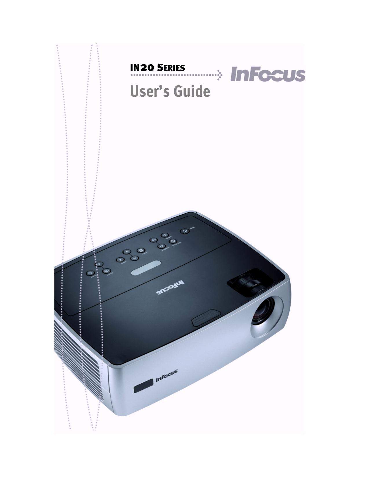 pdf manual for infocus projector in24 rh umlib com Infocus Remote Replacement Infocus Projector Service