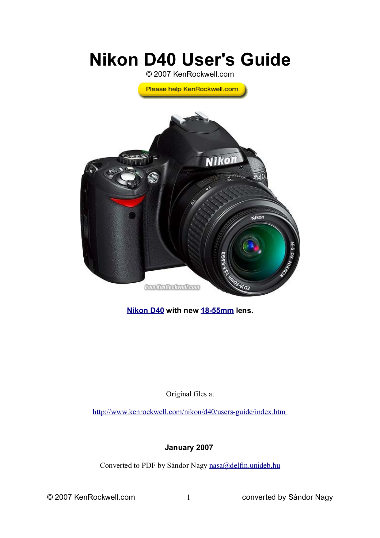 download free pdf for nikon d40x digital camera manual rh umlib com nikon d40 owners manual pdf nikon d40 user's manual