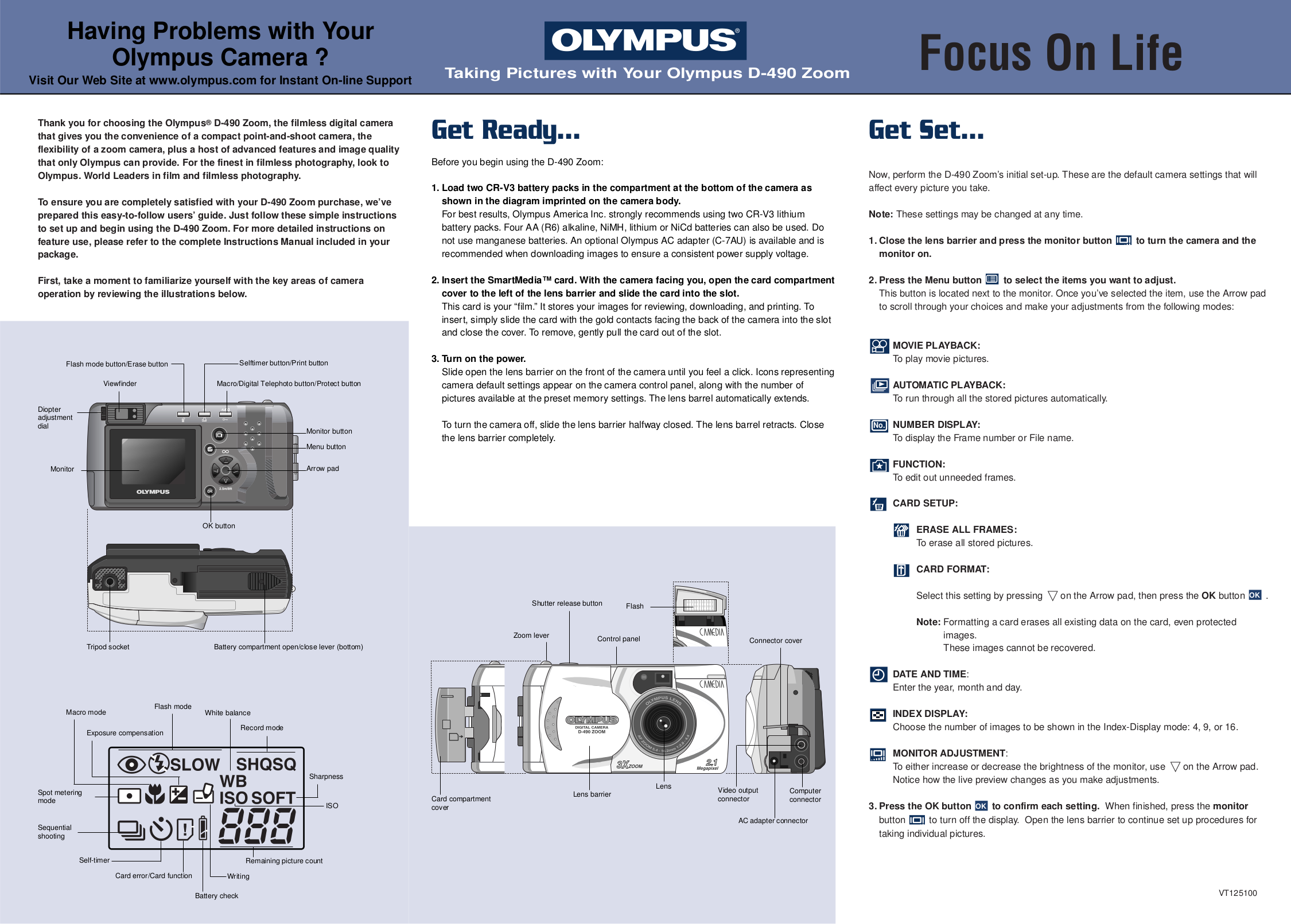pdf for Olympus Other Infinity Zoom 211 Camera-film manual