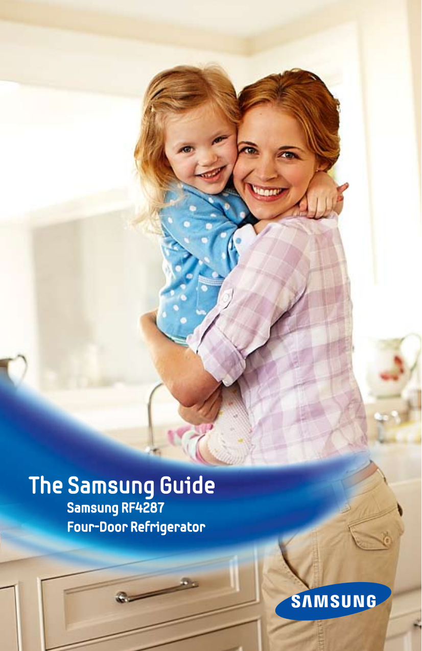 pdf for Samsung Refrigerator RF4287 manual