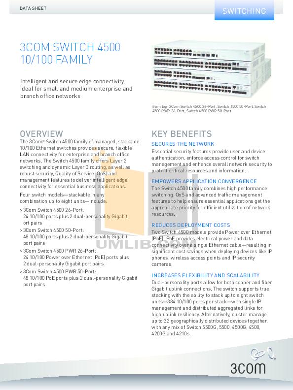 download free pdf for 3com 4500 switch manual rh umlib com 3com 4500 pwr manual 3com superstack 3 switch 4500 manual