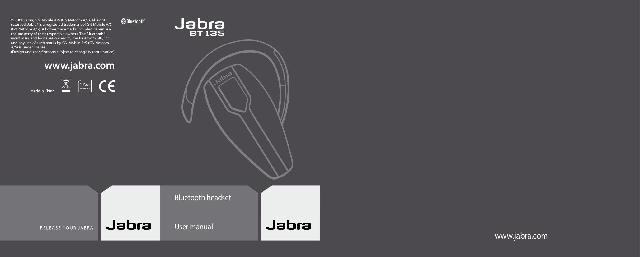 Bt135 jabra инструкция.
