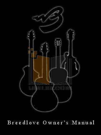 pdf for Breedlove Guitar Performance Series Fusion manual