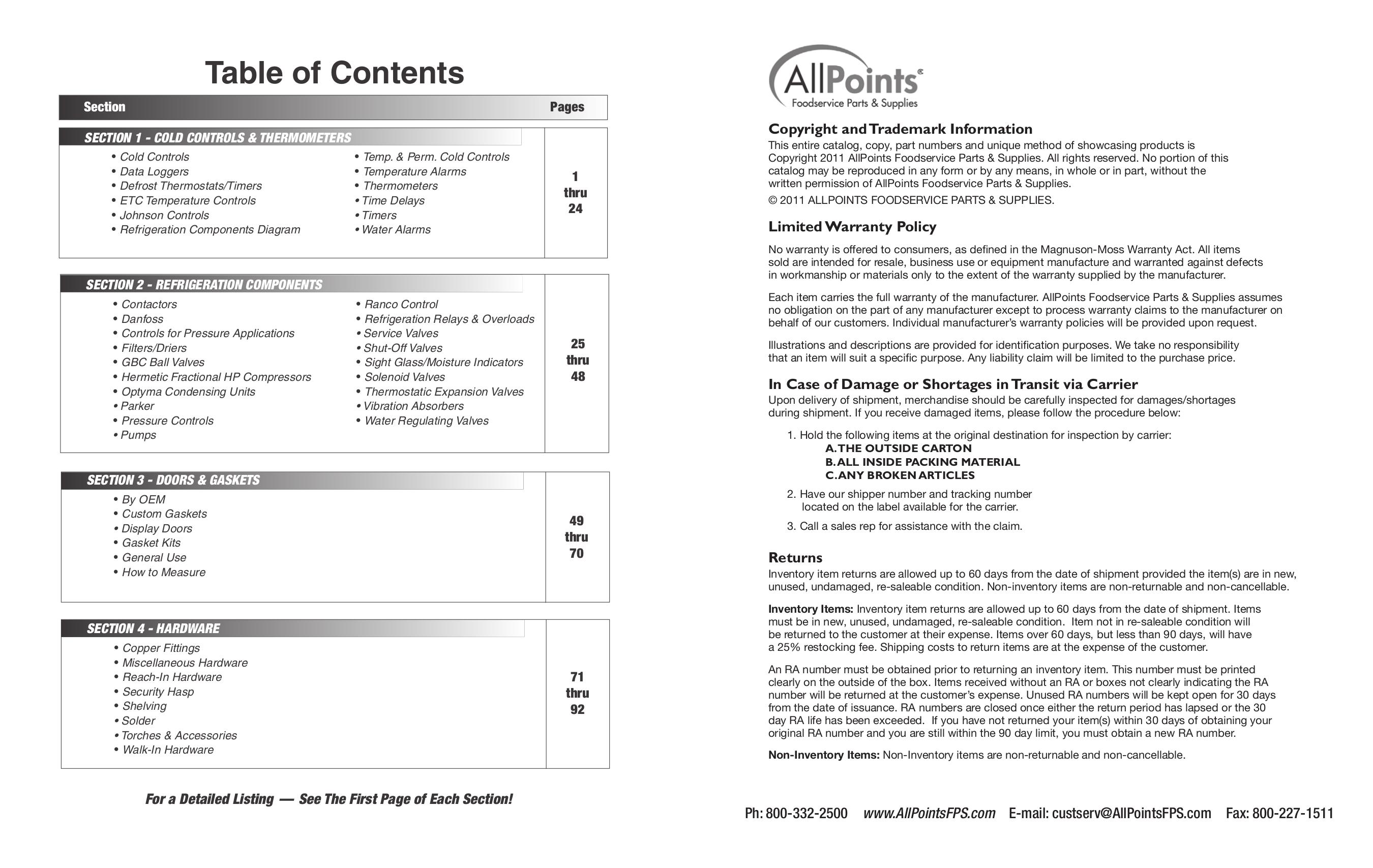 pdf manual for true refrigerator gdm 49