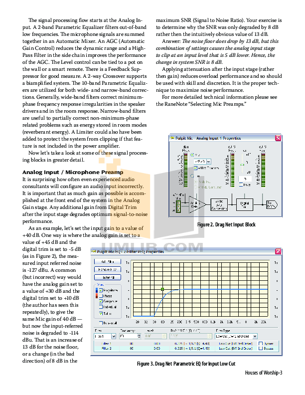Eaw Speaker System MS100 pdf page preview