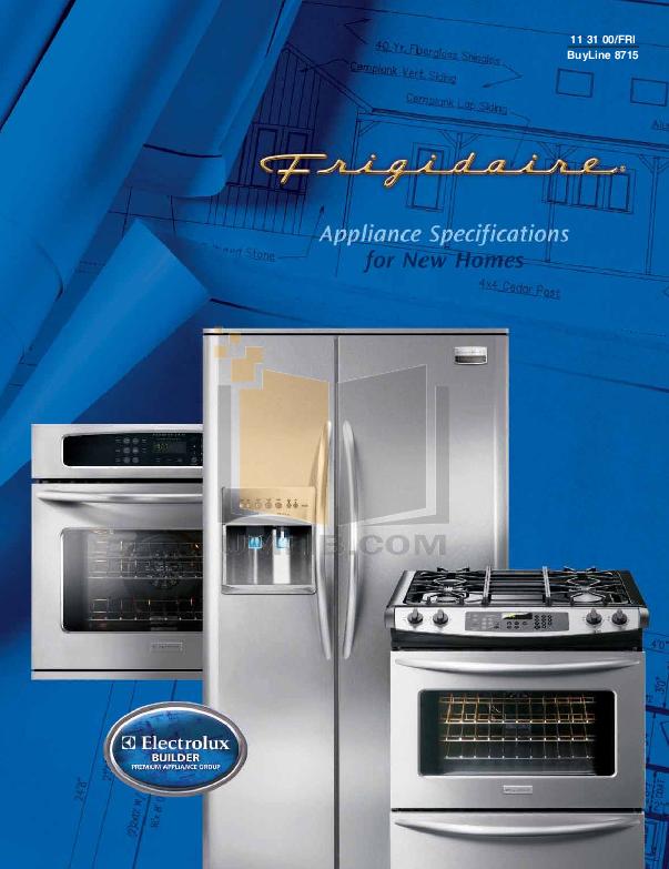 pdf for Frigidaire Refrigerator PHS38EJ manual